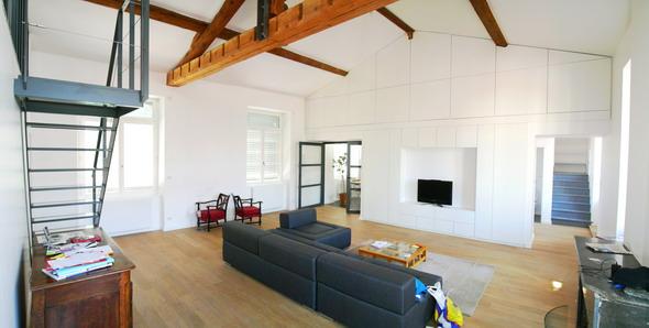 Renovation lourde d appartement lyon 69 playtime aa - Sapin suspendu au plafond ...
