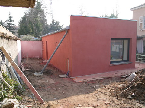 extension maison caluire le chantier playtime aa. Black Bedroom Furniture Sets. Home Design Ideas