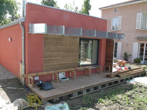 Extension Maison  Caluire  Le Chantier  PlaytimeAa