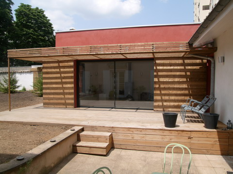 brise soleil maison brise soleil pour baie vitre. Black Bedroom Furniture Sets. Home Design Ideas