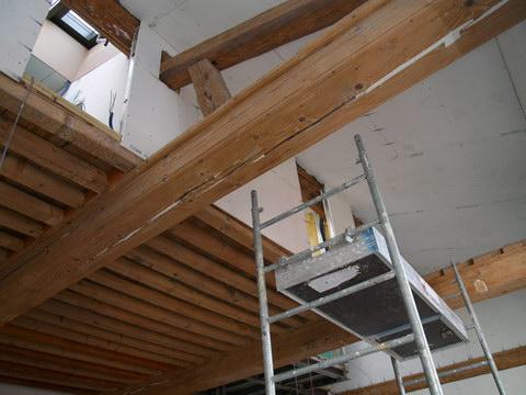 Chantier en cours r novation de canut la croix rousse for Renovation canut