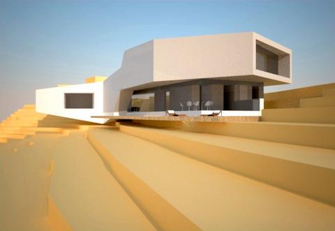 Etude pour une maison contemporaine dans l ouest lyonnais for Maison moderne 69