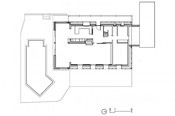 chaponost DET - A4 - PROJET Plan RDC - 200e