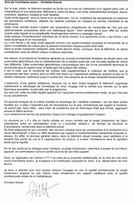 lettre CD590